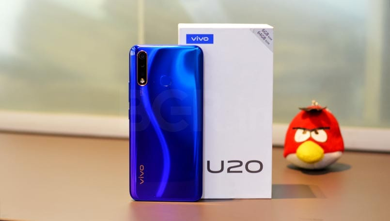 Vivo U20's 8GB RAM variant will be available for Rs 17,990 via offline stores: Report